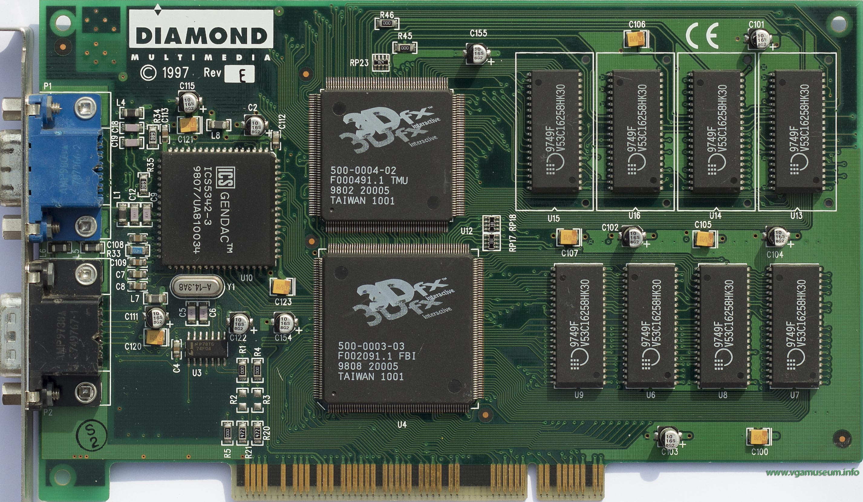 The story of the 3dfx Voodoo1