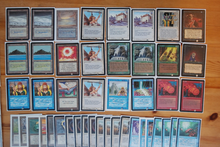 Magic The Gathering Old School Format 93 94 In Toronto
